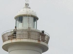 のぼれる灯台